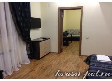 Отель «Фламинго» Студия DBL 2-местный 2-комнатный (Новый корпус)