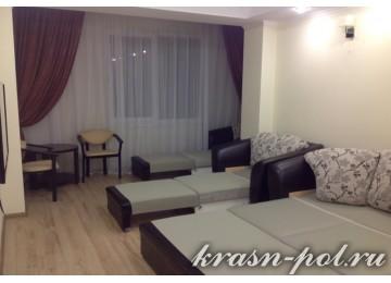 Отель «Фламинго» Семейный 4-местный 2-комнатный (Новый корпус)
