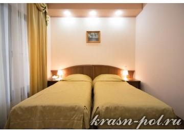 Отель «Тройка» Стандарт 2-местный с 2 кроватями