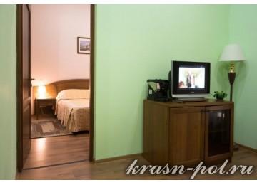 Отель «Тройка» Люкс 2-местный 2-комнатный