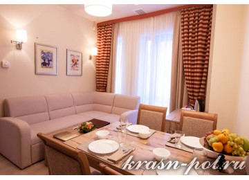 Отель «Поляна 1389» Апартамент 3-местный 2-комнатный