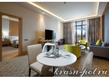 Отель «Rixos Krasnaya Polyana Sochi» 2-местный junior suite