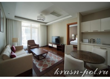 Отель «Sochi Marriott Krasnaya Polyana» Семейный Полулюкс