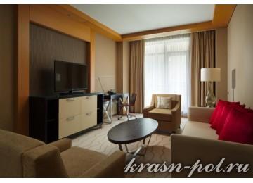 Отель «Sochi Marriott Krasnaya Polyana» Семейный 2-комнатный Представительский Люкс