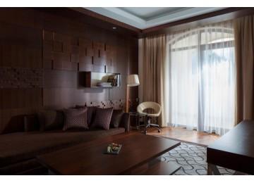 Отель «Sochi Marriott Krasnaya Polyana» Семейный 4-комнатный Премьер Люкс