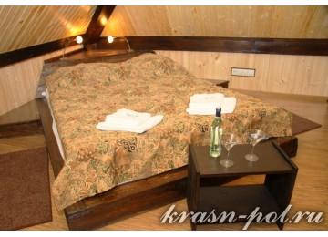 Отель «Альпийский двор» Двухуровневый 2-местный номер