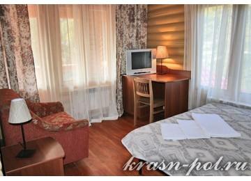 Отель «Ангел» 2-местный 1-комнатный номер Стандарт с балконом