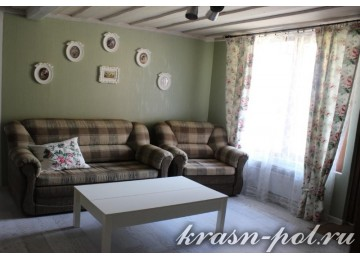 Отель «Рай-Ski-Домик» Апартаменты 2-комнатные с кухней