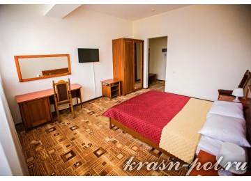Отель «Утомленные солнцем» Стандарт 2-местный с 2 кроватями
