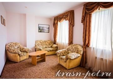 Отель «Утомленные солнцем» Семейный 2-комнатный