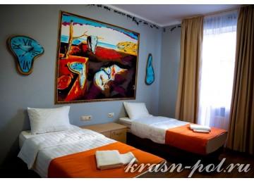 Отель «AYS Design Hotel» 2-местный в блоке