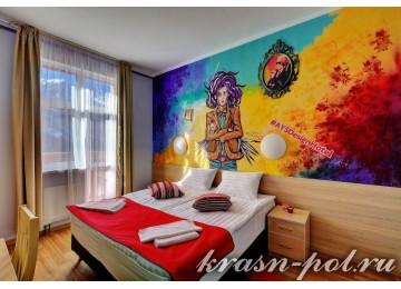 Отель «AYS Design Hotel» 2-местный в блоке Compact вид на гору