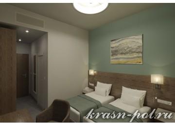 Отель «Green Flow»  Junor sute 2-местный (вид на олимпийскую деревню)
