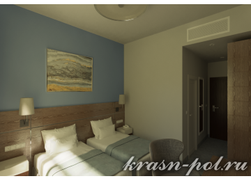 Отель «Green Flow» Superior 2-местный (вид на олимпийскую деревню)