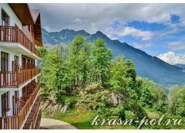 Отель «Высота 1170» Стандарт 2-местный с видом на Олимпийскую деревню