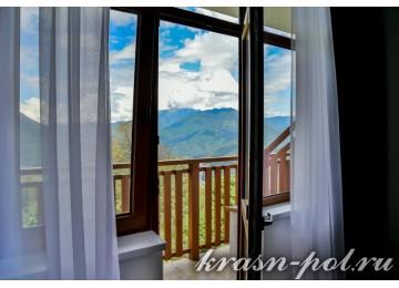 Отель «Высота 1170» Стандарт 2-местный с видом на горы
